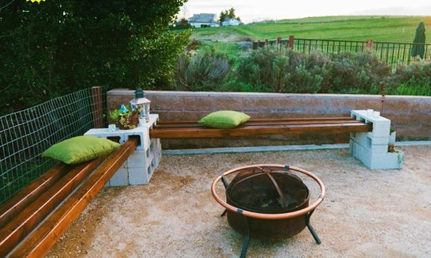 Awesome 25 Concrete Block Ideas To Try And Enjoy Cheap Diy Outdoor Squirreltailoven Fun Painted Chair Ideas Images Squirreltailovenorg