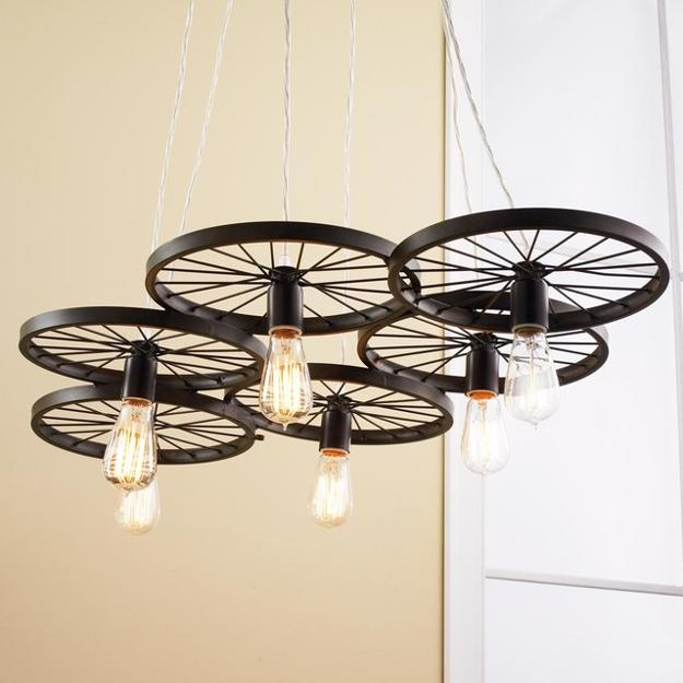 How To Bring Summer Vibes Into Your Home 6 Color Ideas: Green Ideas To Recycle Bike Parts For Unique Lighting Fixtures