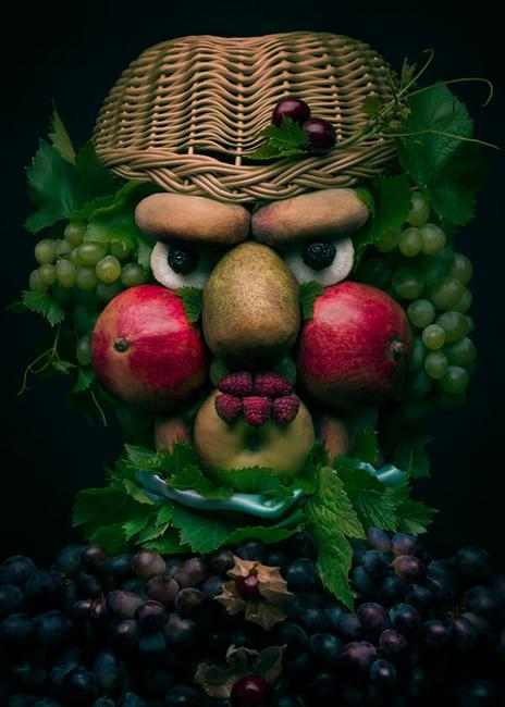 Colorful Food Art, Ideas to Compose Faces of Fresh Fruits ...