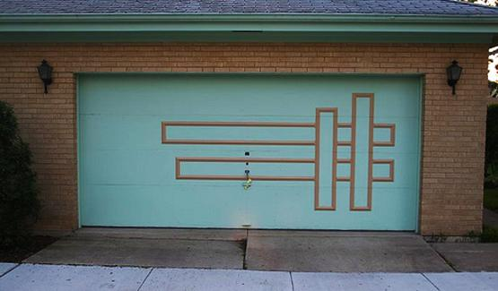 Retro Garage Door Decoration Ideas And Modern Designs For
