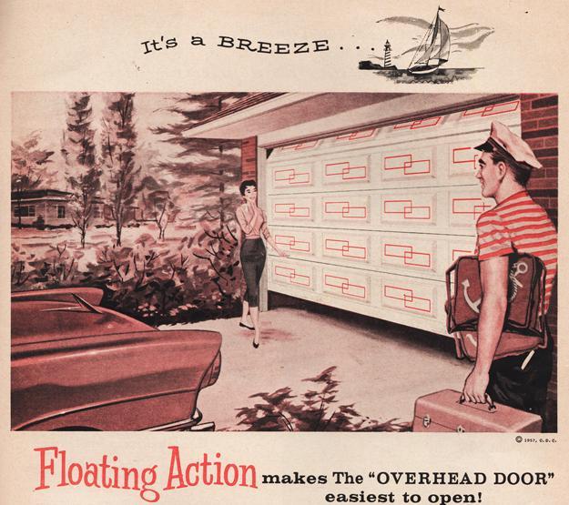 Top 5 Modern Garage Designs: Retro Garage Door Decoration Ideas And Modern Designs For