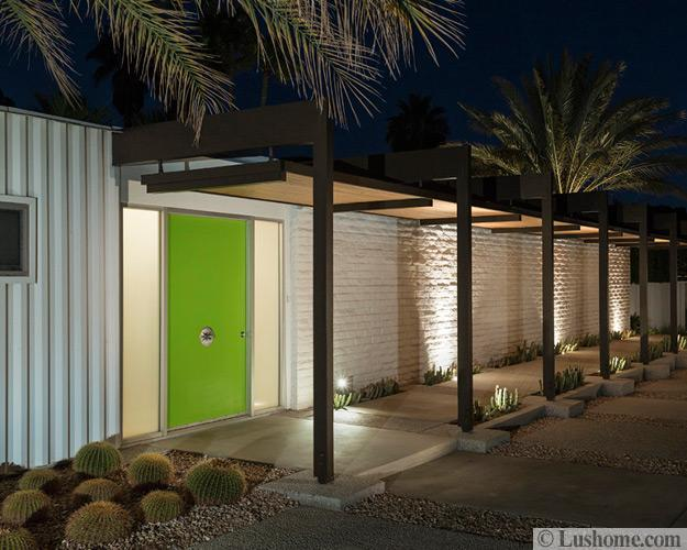 Mid Century Modern Door Colors Adding Fashion And Flair To