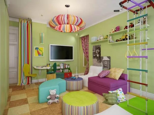 Fabulous play gym ideas adding fun to kids rooms
