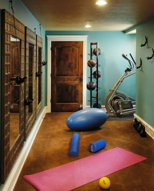 Home Gym Design Ideas: Inspiring Home Gym Design Ideas And Decorative Accents