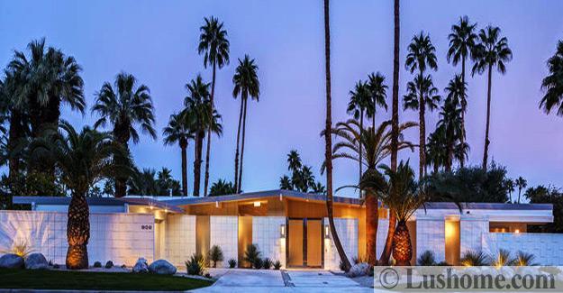 Mid Century Modern House Exteriors Distinct Roof Design