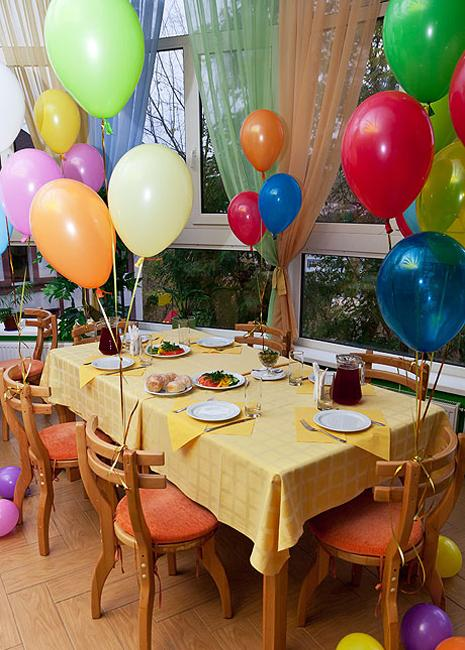 Bright Back To School Kids Party Ideas And Table Decorations