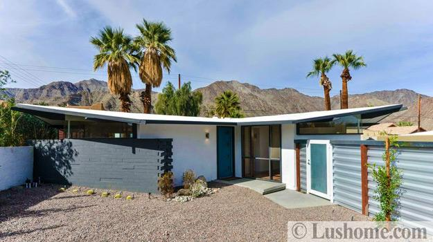 Mid Century Modern House Exteriors Distinct Roof Design