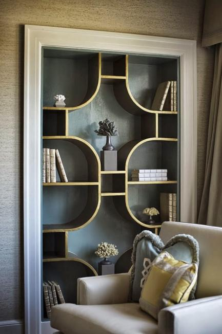 Original Book Shelves Making Captivating Centerpieces For