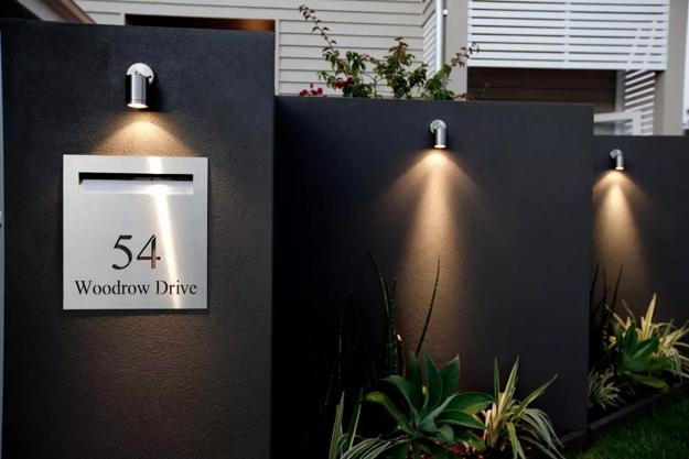 How To Beautify House Number Signs With Plants And Outdoor