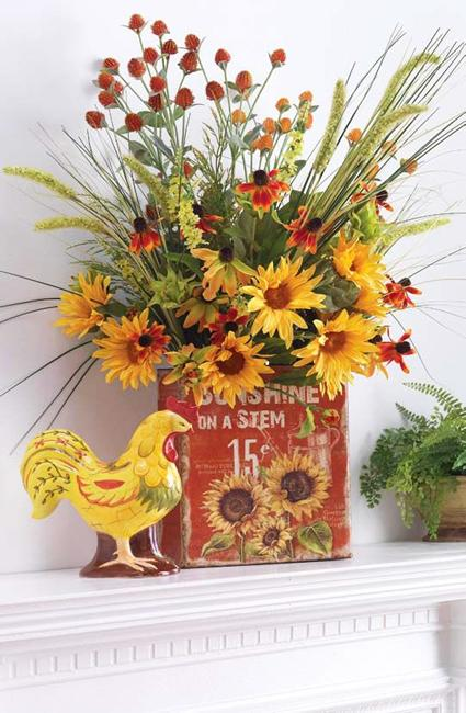 Image Result For Kitchen Decorating Ideas With Sunflowers