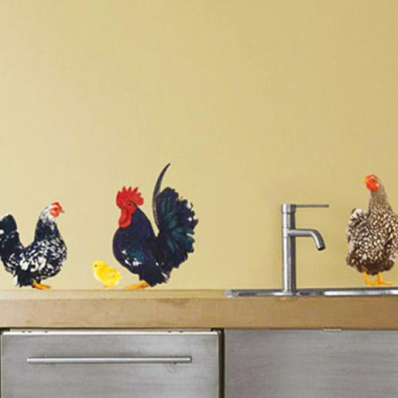 Beautiful Interior Design Ideas Welcoming Roosters Into