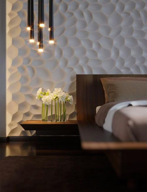 Modern Trends In Decorating With 3d Wall Panels And Contemporary Textures
