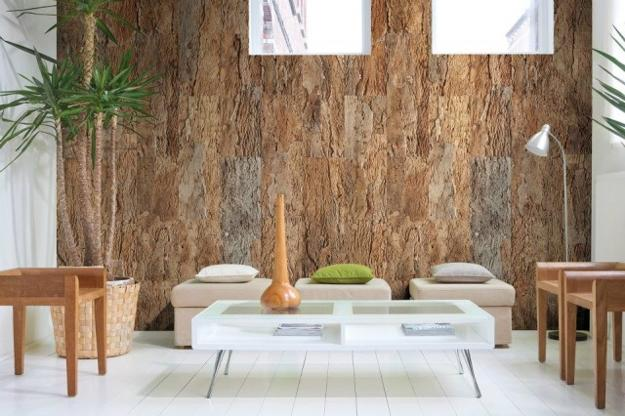 natural materials in modern interior design
