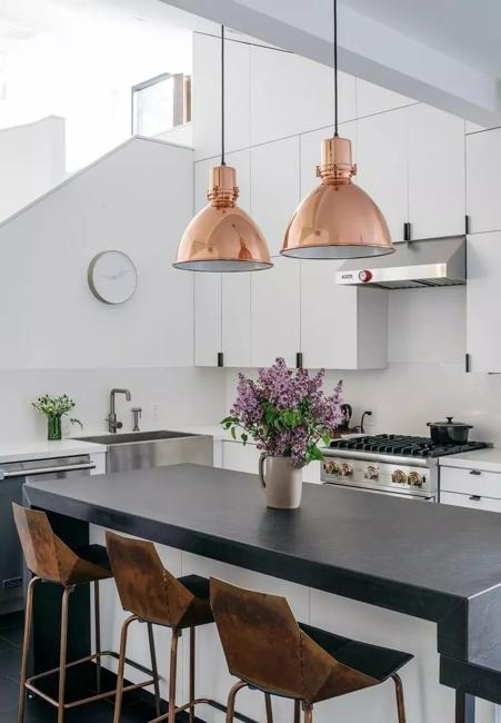 Copper Lighting Fixtures Take Interior Design From Great To