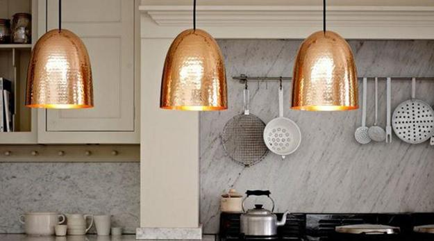 Copper Lighting Fixtures Take Interior Design From Great