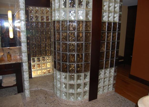 Black And White Glass Blocks