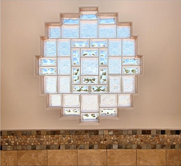 Glass Block Designs Of Exterior Walls Infusing Natural