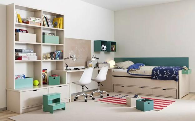 Do It Yourself Home Design: 20 Shared Desk Ideas, Kids Rooms With Study Space, Designs