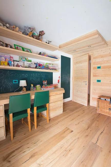 Best Study Room Design: 20 Shared Desk Ideas, Kids Rooms With Study Space, Designs