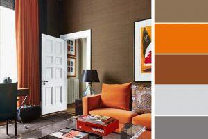 Merveilleux 5 Beautiful Orange Color Schemes To Spice Up Your Interior Design