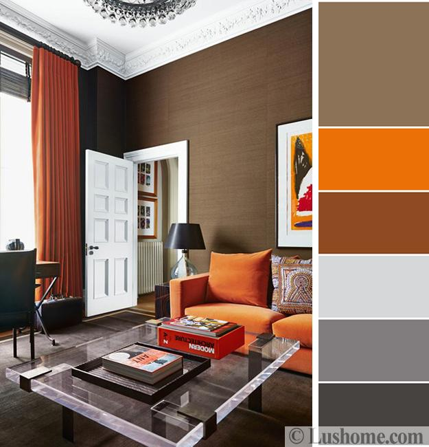 Childrens Bedroom Lighting Bedroom Slippers Feng Shui Bedroom Paint Colors Bedroom Furniture Black And White: 5 Beautiful Orange Color Schemes To Spice Up Your Interior
