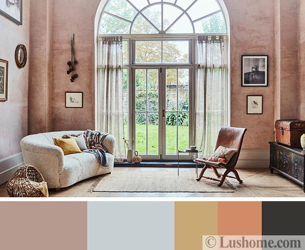 Gorgeous Interior Color Schemes Fall Botanical Collection