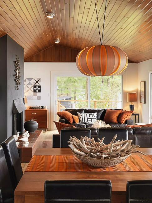 Room Colors Share Modern Interior In Terra Cotta Orange