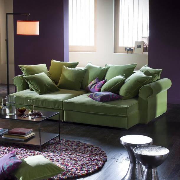Color Schemes Interior Design Gallery: Pink, Purple And Green Color Schemes, 20 Modern Interior