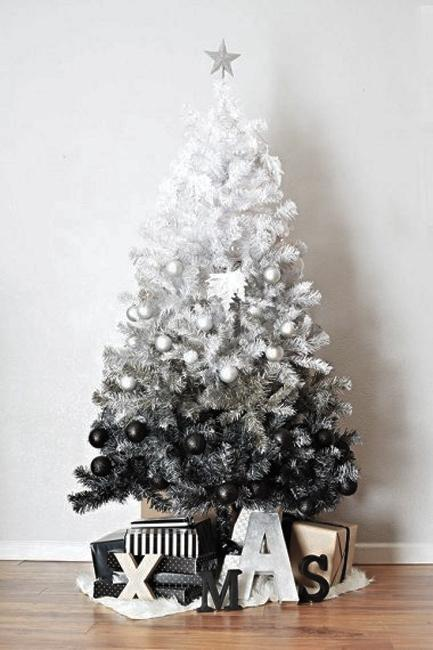 Blue Christmas Trees Decorating Ideas