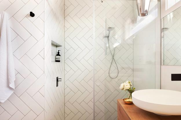 Black Rectangular Tiles For Shower Walls Square Floor Contemporary Design Trends