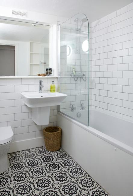 Small Bathroom Tiles, Old Design Trends Making Their Comeback