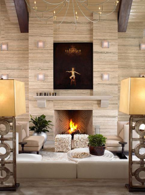 Modern Wall Design And Lights
