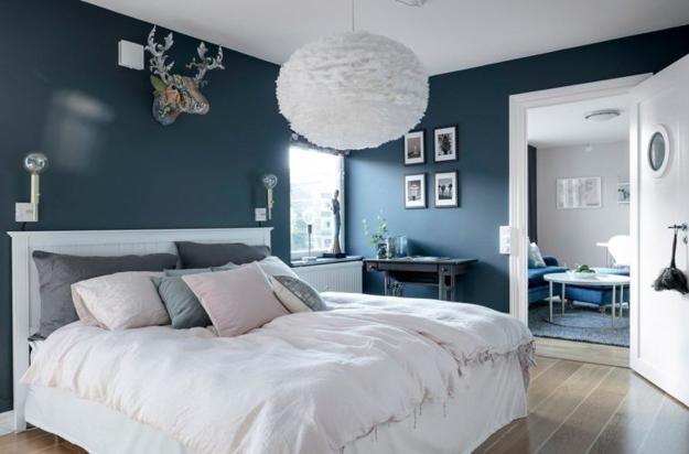 Bluish Gray and White Decorating Ideas Soften and Styled by ...