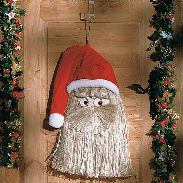 Santa wall decor