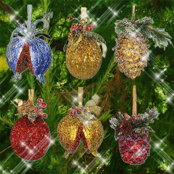 Christmas Tree Fruit Ornaments.10 Inspiring Trends In Christmas Tree Ornaments And Winter