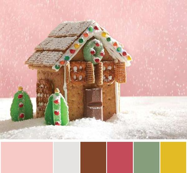 6 Holiday Treats Inspiring Interior Design Color Schemes