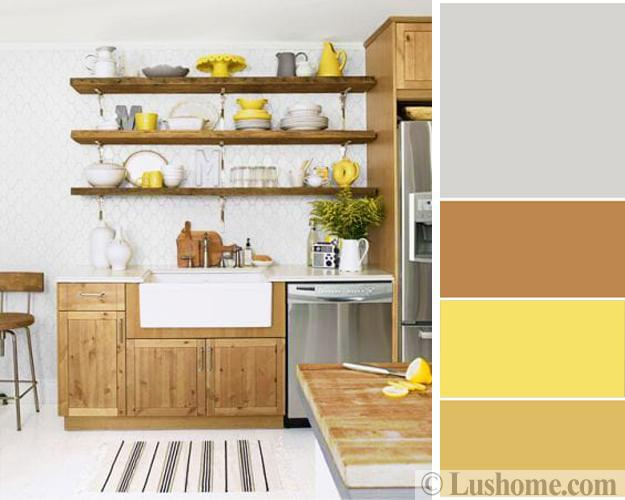 Sunny Yellow And Brown Colors Inspired By Delicious And Healthy Holiday Treats
