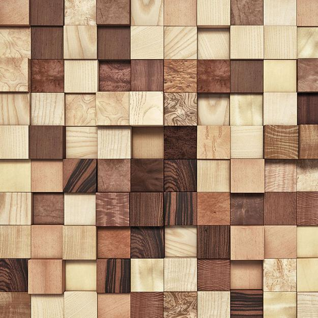 Wooden Wall Tile Designs