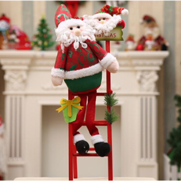 Christmas Decorating Ideas For Old Wooden Ladders Beautiful Holiday