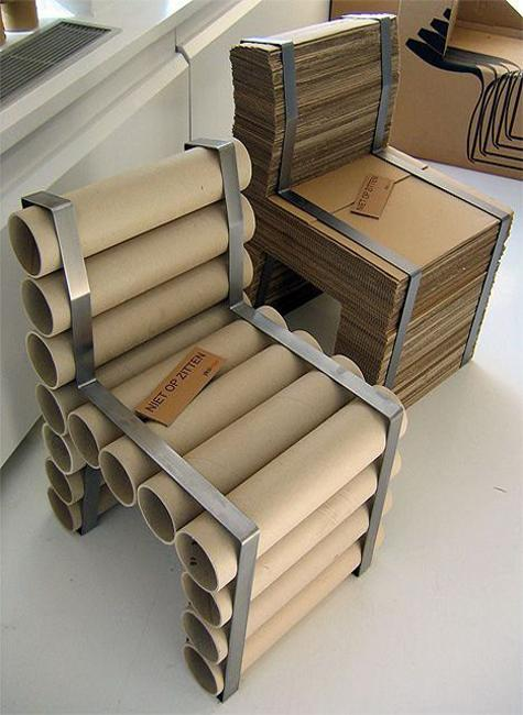 Recycling Cardboard For Unique Diy Furniture Inspiring