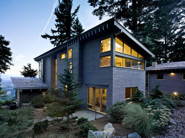 Modern Houses Surrounded By Trees Architectural Appeal