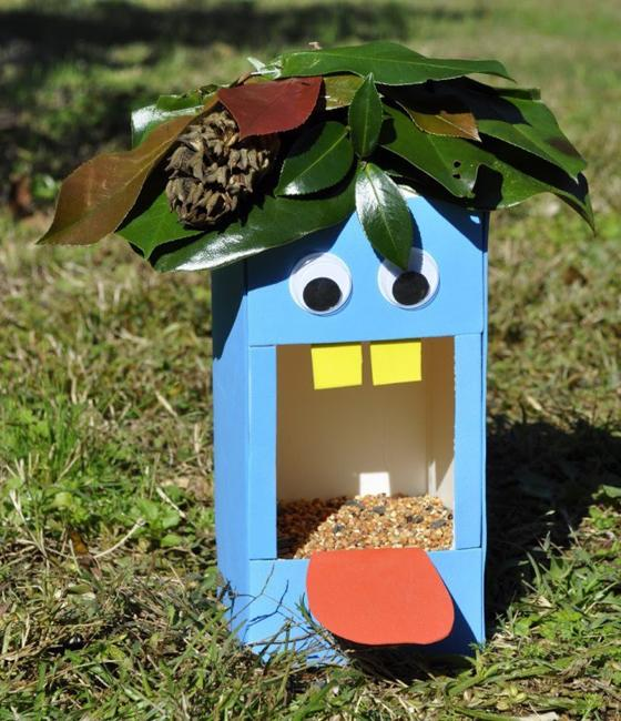 Garden Art Diy Easy Bird Feeders