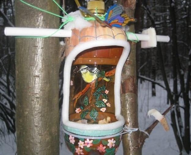 Recycling For Diy Bird Feeders Helping Feathered Friends