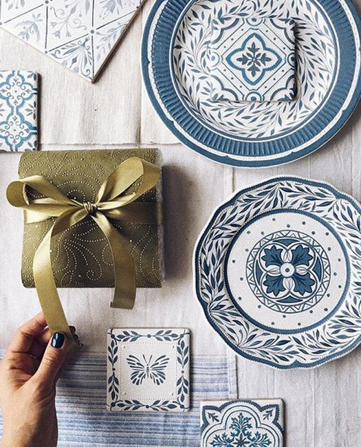 painted tiles gifts