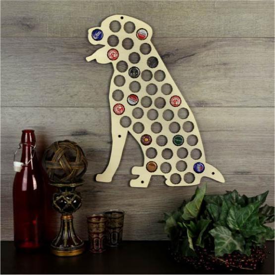 Original Design Ideas to Recycle Metal Caps for Home Decorating