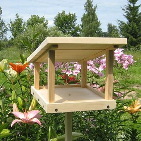 Wood Bird Feeder 25 Design Ideas For Diy Garden Decorations