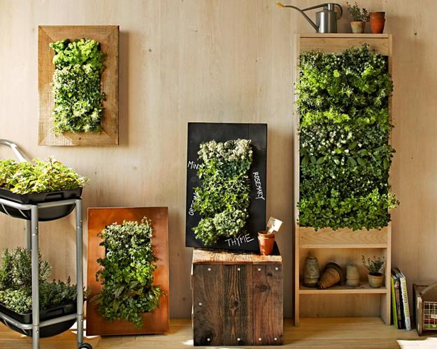 Vertical Garden Designs, Space Saving Ideas For Small