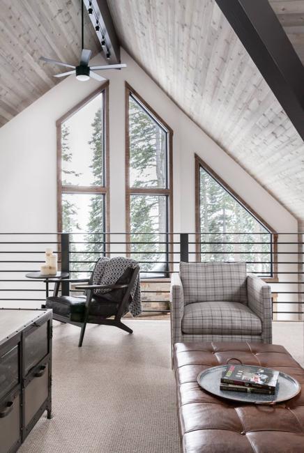 modern interior design unique home interiors reviving traditional cabin designs. Black Bedroom Furniture Sets. Home Design Ideas