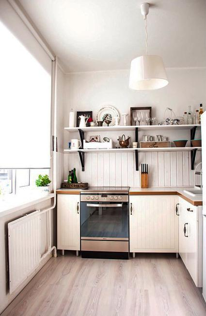 Small Kitchen Design Ideas, How to Stretch Small Spaces ...