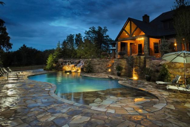 Small Swimming Pools Backyard Landscaping